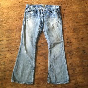 BKE Star 20 light wash stretch jeans 30x29.5